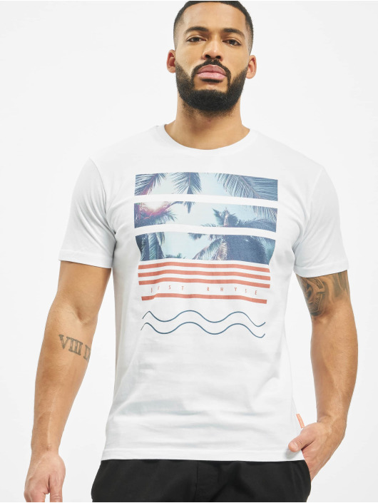 Just Rhyse T-shirts Monteverde hvid