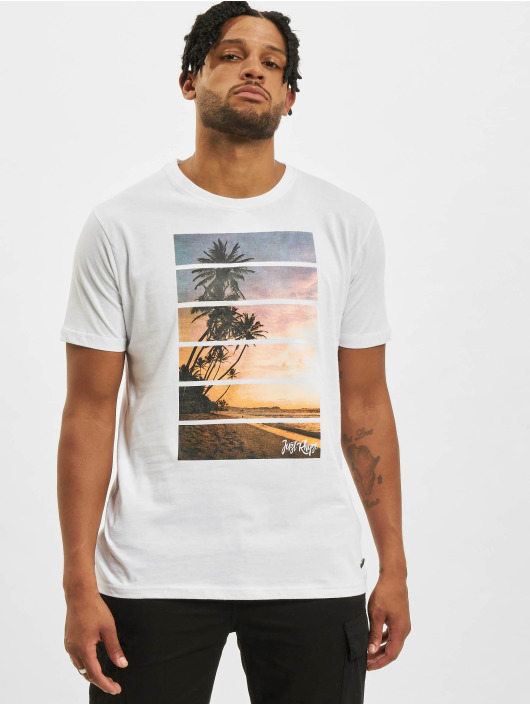 Just Rhyse T-Shirty Jeri bialy