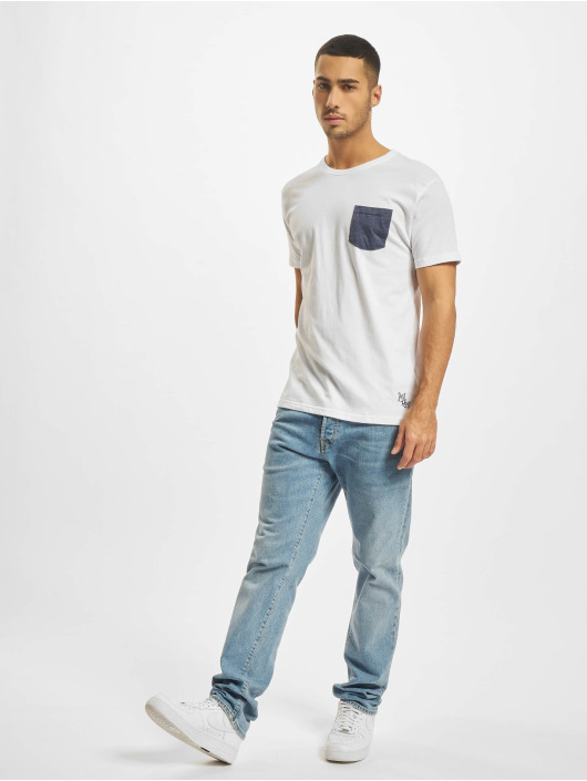 Just Rhyse T-Shirty Claro bialy