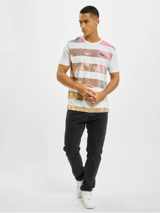 Just Rhyse T-Shirty Canoa bialy