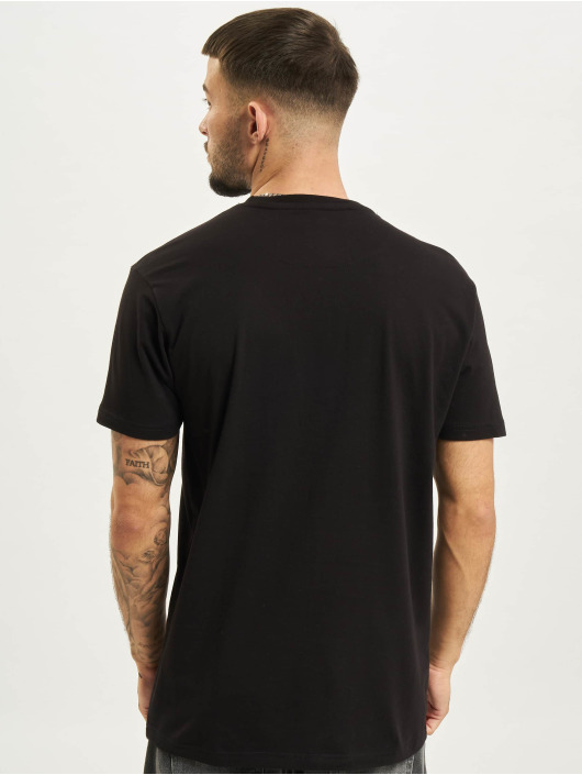 Just Rhyse T-Shirty Langebaan czarny