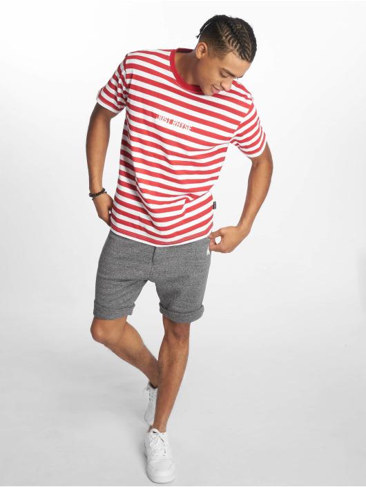 Just Rhyse T-Shirty Port Orange czerwony