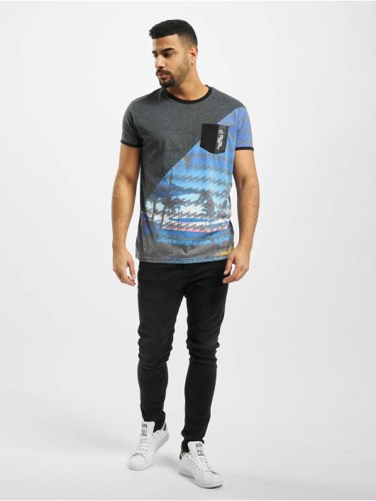 Just Rhyse T-Shirty Palm Coast niebieski