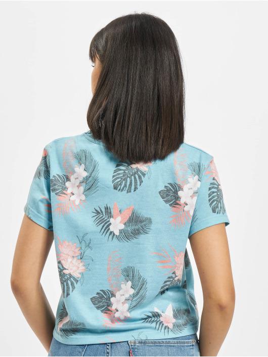 Just Rhyse T-Shirty Paraiso niebieski