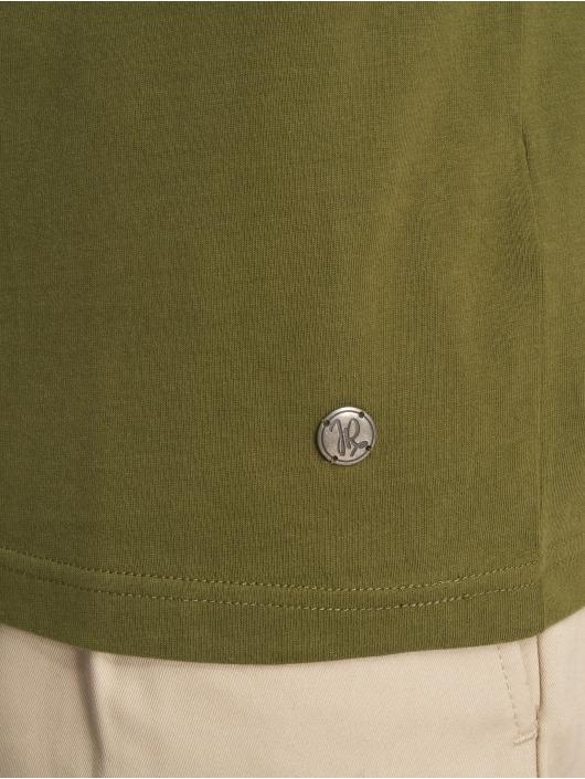 Just Rhyse T-Shirty Ticatica oliwkowy
