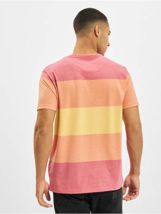 Just Rhyse T-Shirty Seaside pomaranczowy