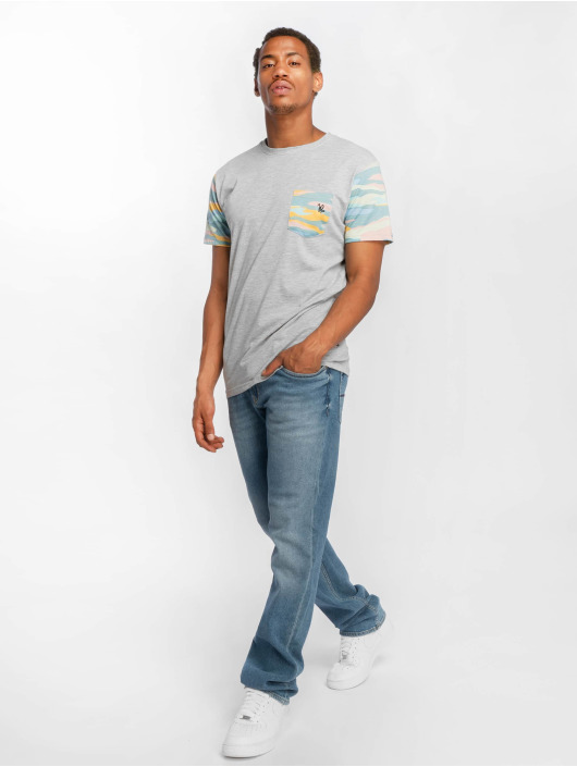 Just Rhyse T-Shirty Tequesta szary