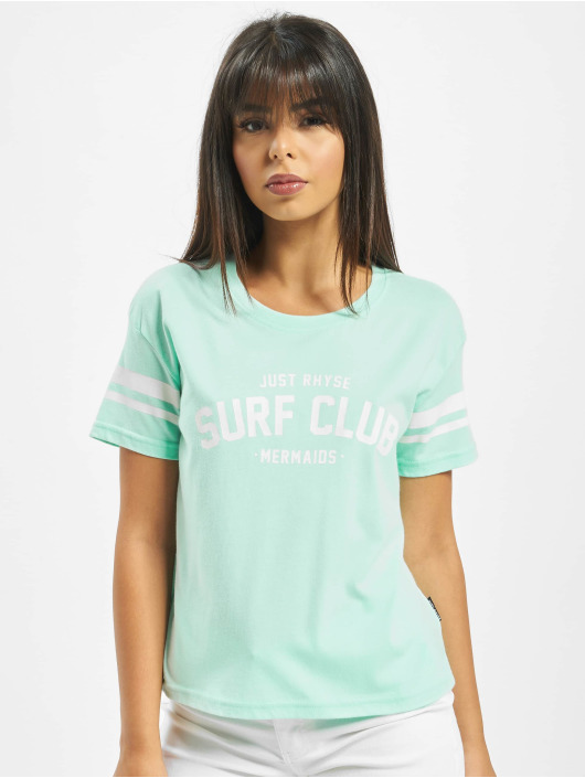Just Rhyse T-Shirty Santa Ana turkusowy