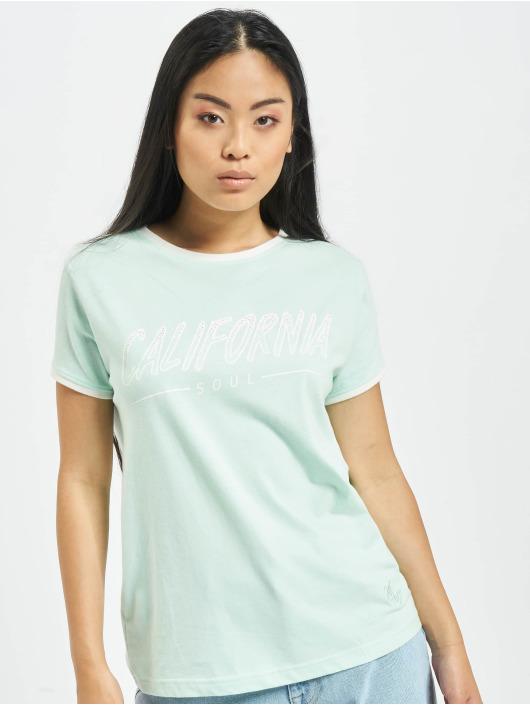 Just Rhyse T-Shirty Santa Monica turkusowy