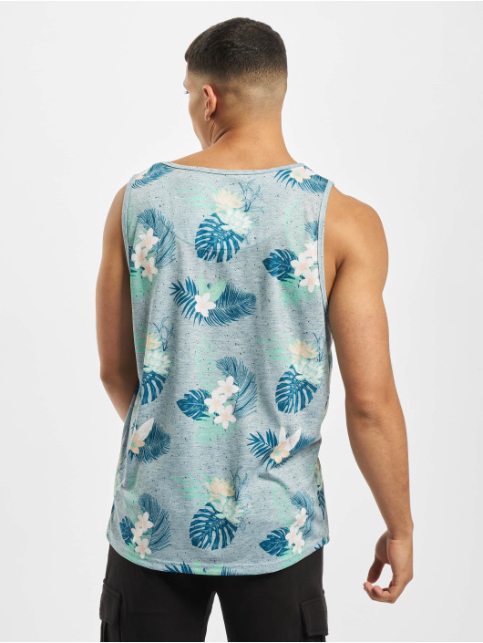 Just Rhyse Tank Tops Paraiso azul