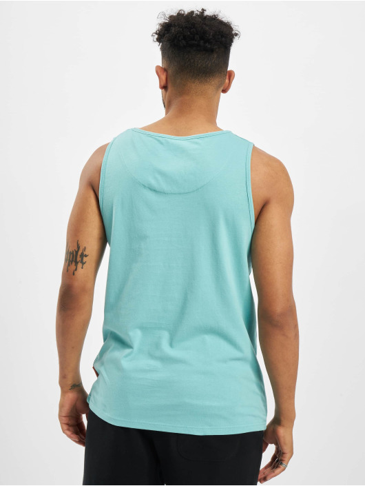 Just Rhyse Tank Tops Carara blue