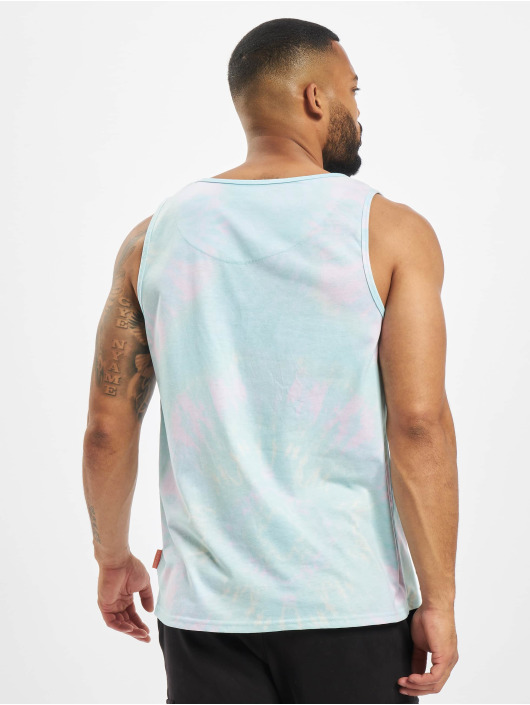 Just Rhyse Tank Tops Agua Buena colored