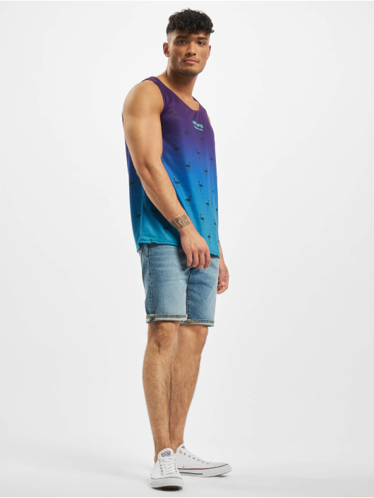 Just Rhyse Tank Tops Sunny Hills fioletowy