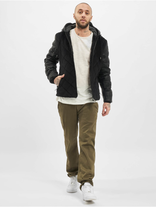 Just Rhyse Winter Jacket Quilted black