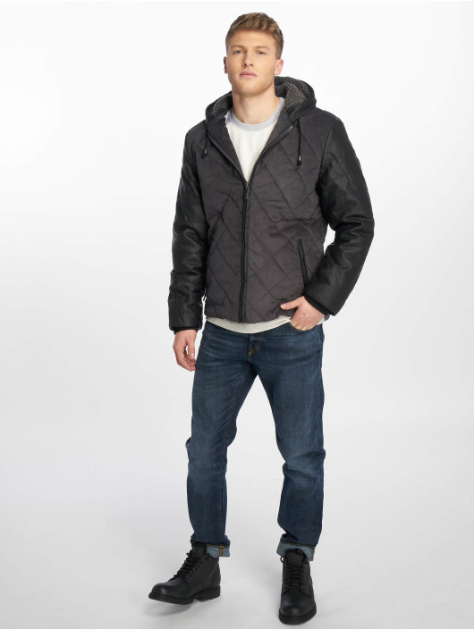 Just Rhyse Winter Jacket Quilted gray