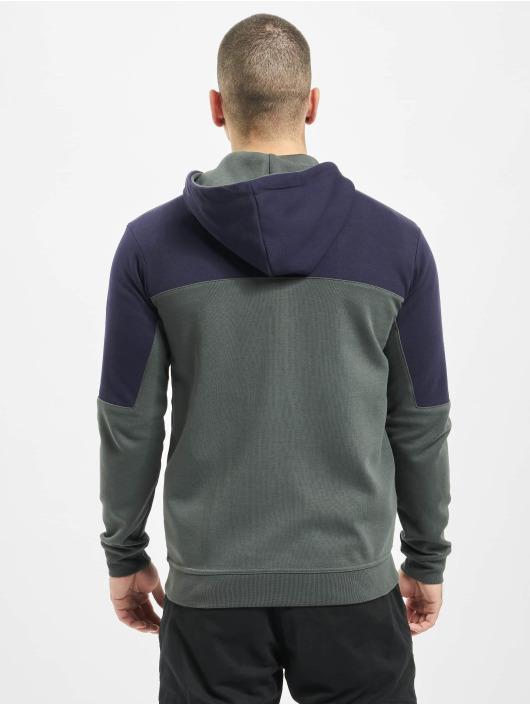 Just Rhyse Zip Hoodie Grand Teton blue