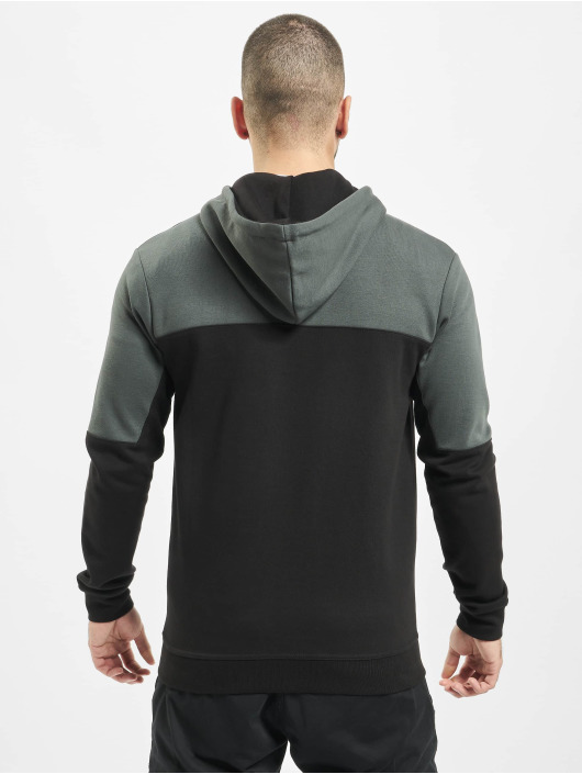 Just Rhyse Zip Hoodie Grand Teton svart