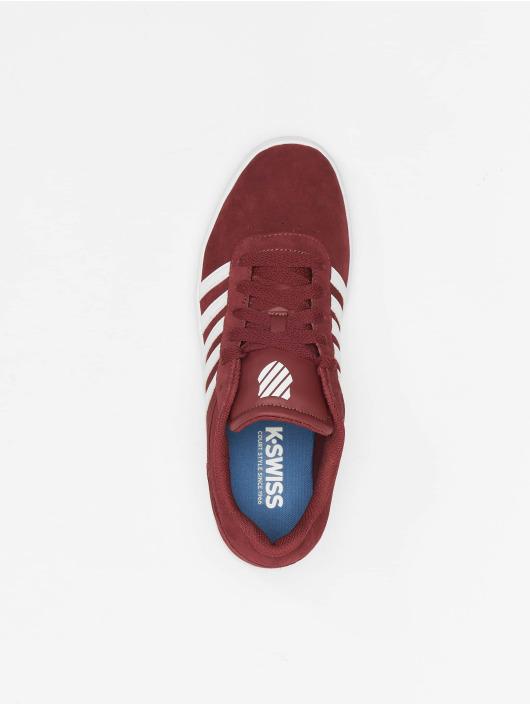 K-Swiss Sneaker Court Cheswick SDE rosso