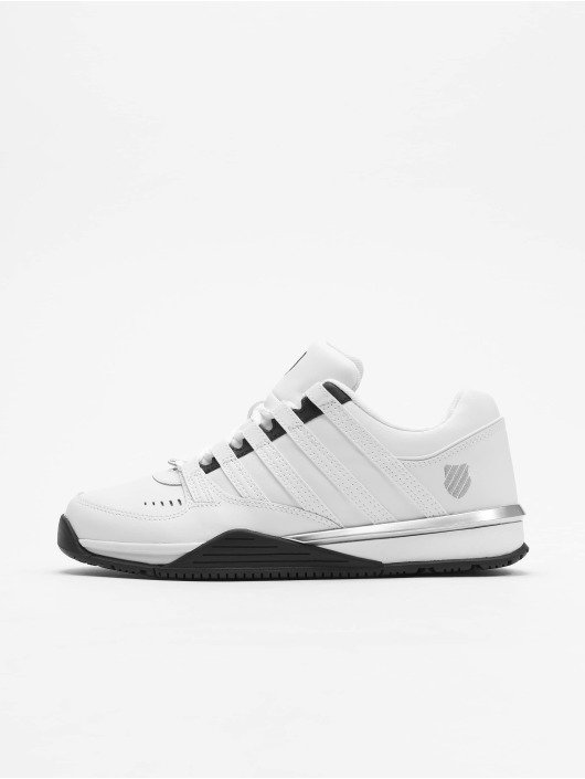 official photos 6f72d e29ae K-Swiss Baxter Sneakers White/Black/Silvern White