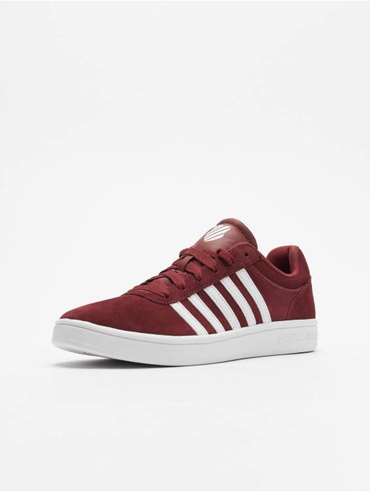 K-Swiss Zapatillas de deporte Court Cheswick SDE rojo