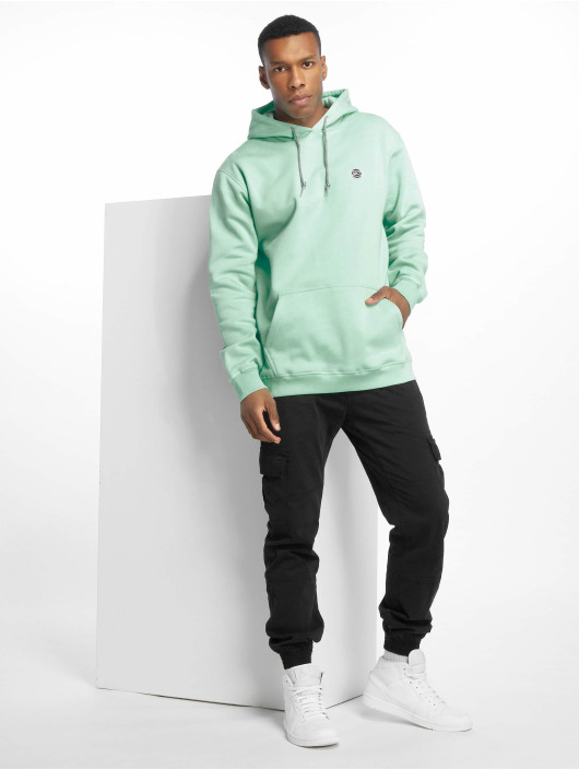 K1X Bluzy z kapturem Color zielony