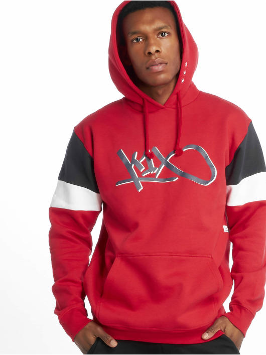 K1X Sweat capuche Vote Tag rouge