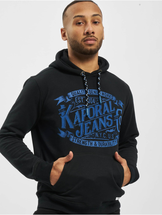 Kaporal Hoody Knitted schwarz