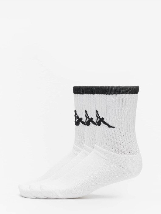 Kappa Calcetines Exton Trainer 3er Pack blanco