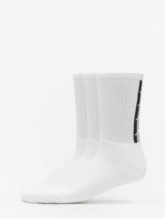 Kappa Chaussettes Fatal Trainer blanc