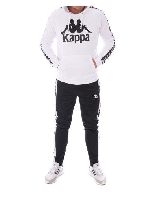 Kappa Hoodie Hurtado white