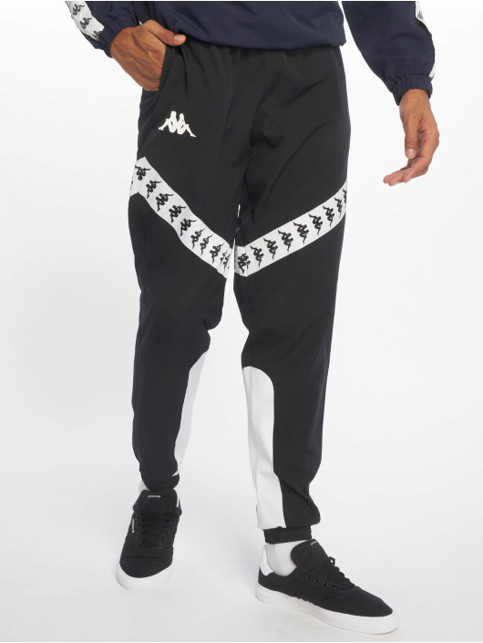 Kappa 222 Banda Balmar Sweat Pants BlackWhite