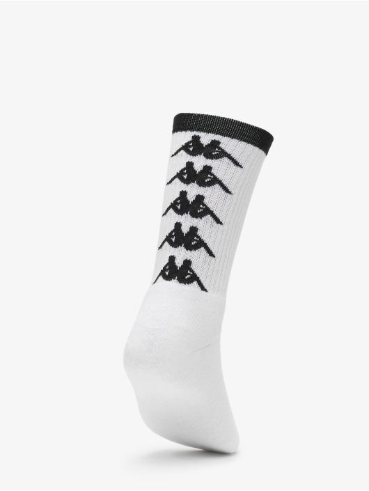 Kappa Ponožky EVAN Quarter 3-Pack biela