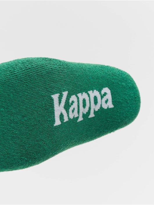 Kappa Ponožky Evan Quarter 3er Pack zelená