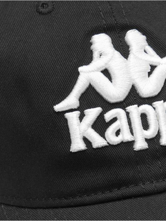 Kappa Snapback Cap Elino schwarz