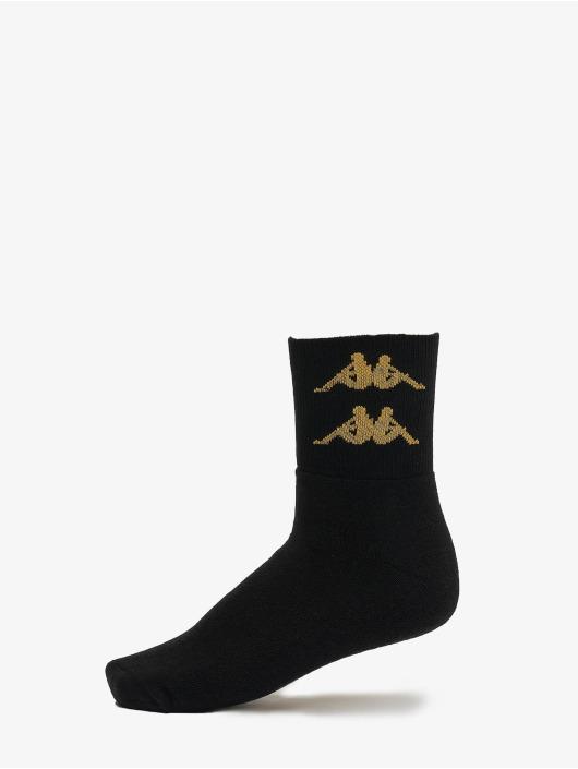 Kappa Socken Evan Quarter 3er Pack gelb