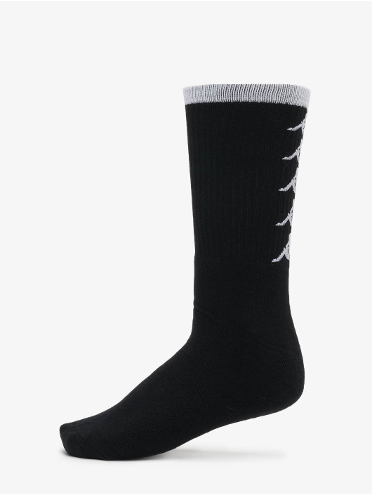 Kappa Socks EVAN Quarter 3-Pack black