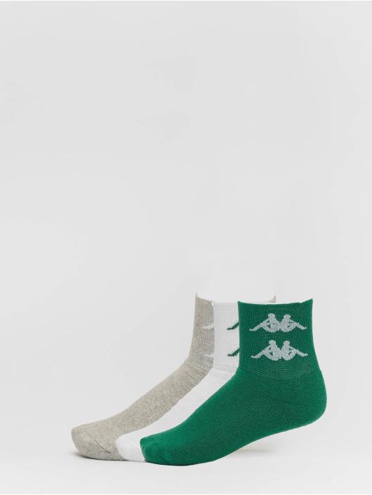 Kappa Socks Evan Quarter 3er Pack green