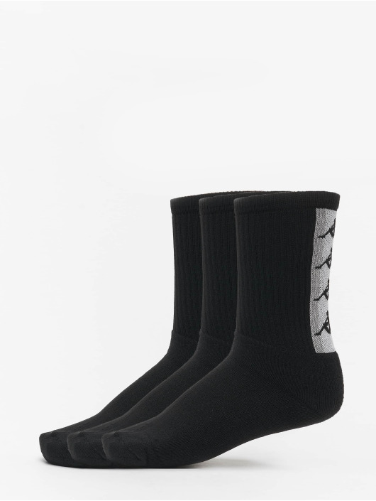 Kappa Socks Fatal Trainer 3er Pack grey