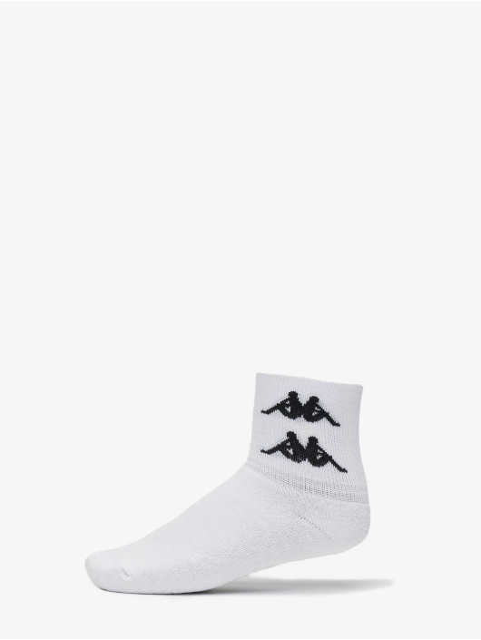 Kappa Socks Evan Quarter white