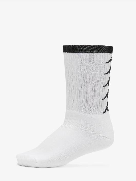Kappa Sokken EVAN Quarter 3-Pack wit