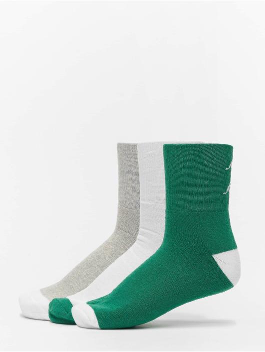 Kappa Sokker Etimo Quarter 3er Pack grøn