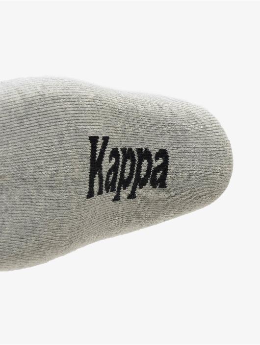 Kappa Sokker Evan Quarter 3er Pack gul