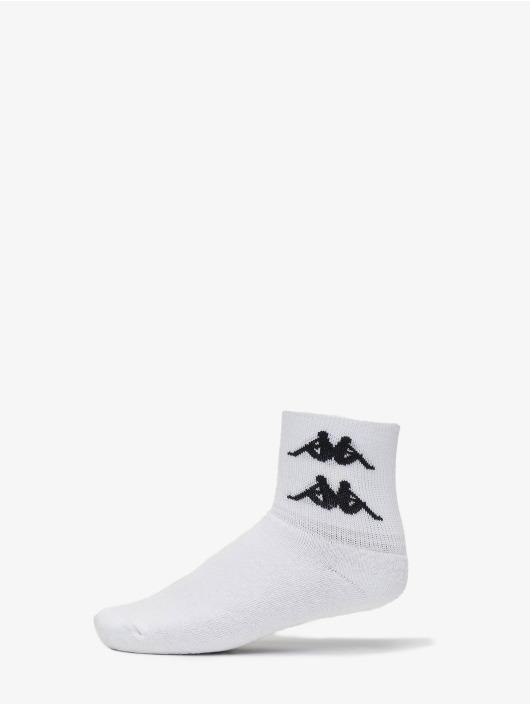 Kappa Sokker Evan Quarter hvit