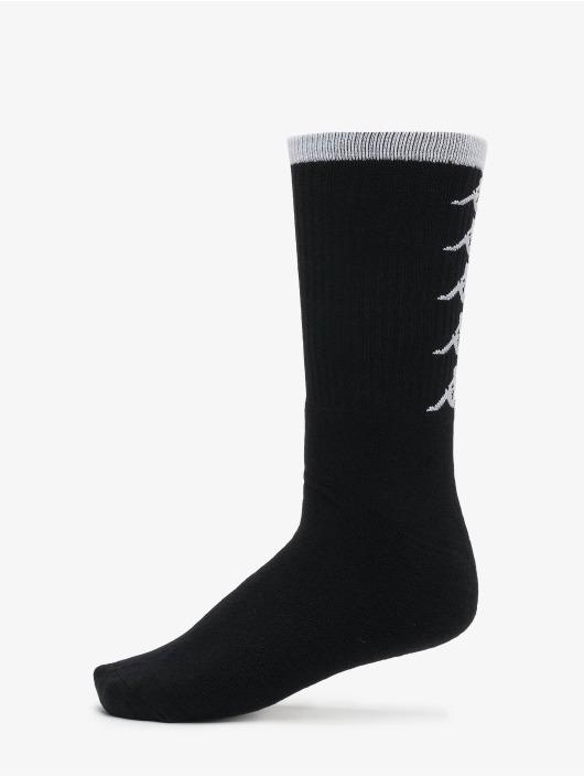 Kappa Sokker EVAN Quarter 3-Pack svart