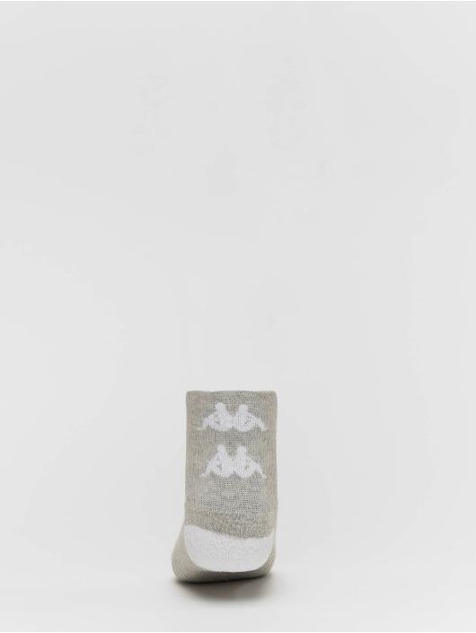 Kappa Strumpor Etimo Quarter 3er Pack grå