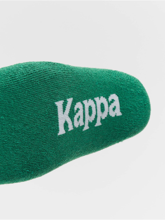 Kappa Strumpor Evan Quarter 3er Pack grön
