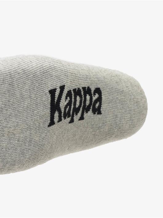 Kappa Strumpor Evan Quarter 3er Pack röd