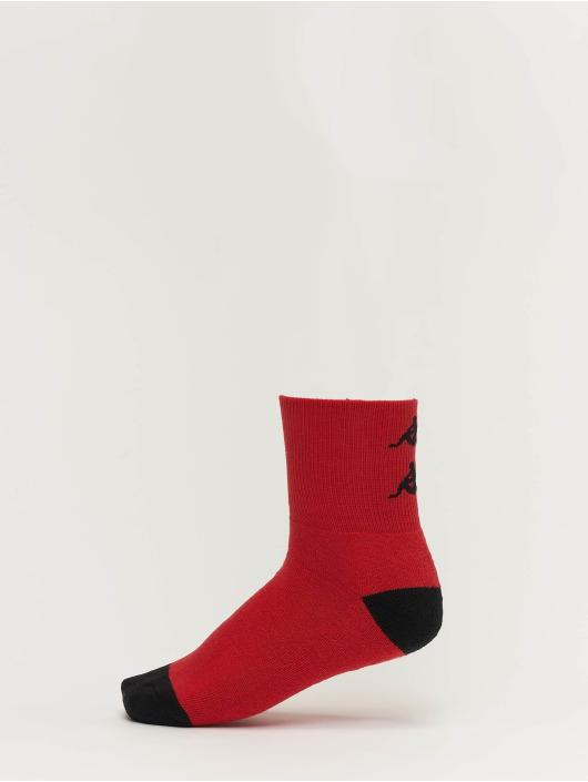 Kappa Sukat Etimo Quarter 3er Pack punainen