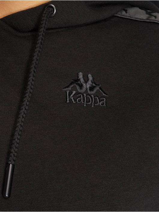 512197 Kappa Noir Sweat Allas Femme Capuche MqSUpVGz
