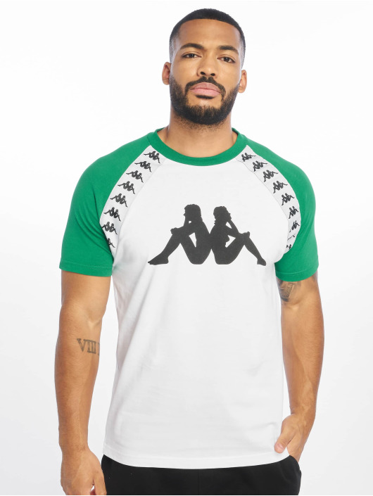 Kappa T-Shirt 222 Banda Bardi weiß